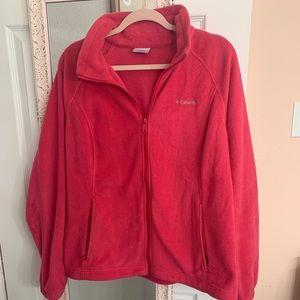 Hot pink Columbia jacket